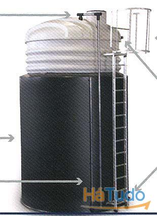Bacias de retenção para depósitos verticais
