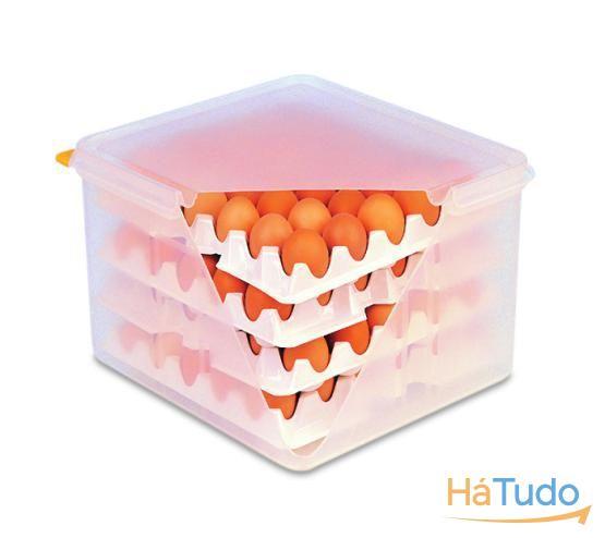 caixas ovos armazenamento