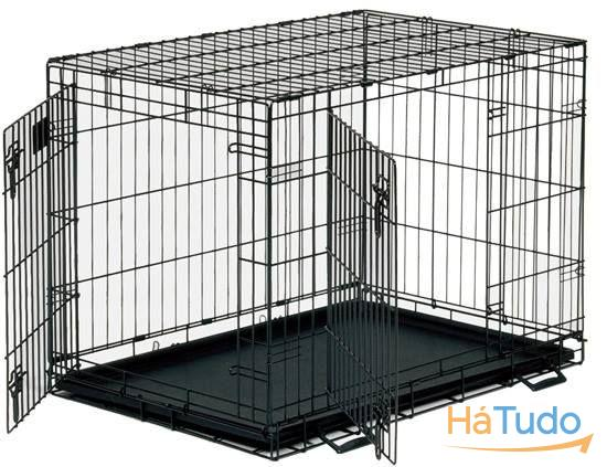 Jaulas de Transporte p/ Cães e Gatos - Dog crate, double door