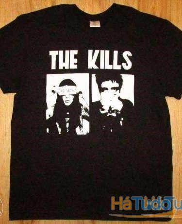 The Kills - T-shirt - Nova - Unisexo