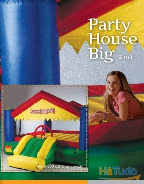 Insuflável Big Bounce House Party 3 in 1