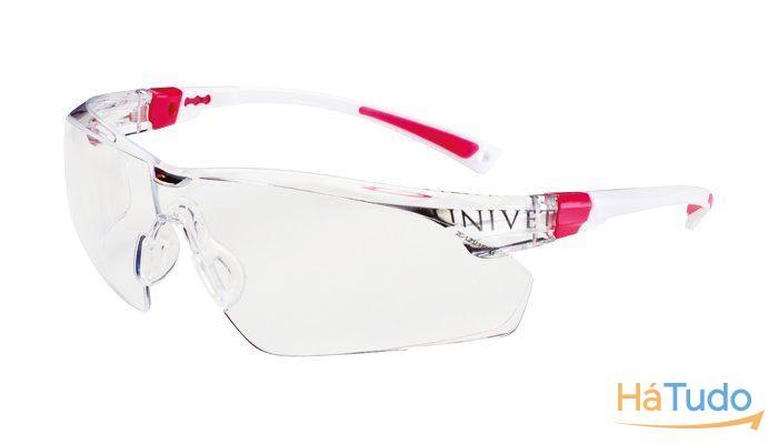 Óculos Proteção Anti-Risco e Anti-Embaciante Armação Rosa 506 ... abeca66aa1
